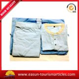 Promotional Cotton Bathrobe / Pajama / Nightwear, Cheap Airline Pajamas