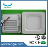 2017 Surface Mounted LED Panel Light 6W 12W 18W Round/Square LED Ceiling Lights Free Shipping LED Downlight AC85-265V SMD2835 Ce UL
