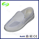 PVC Cleanroom Working Shoes with Excellent Air Permeability (EGS-PVC-503)