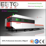 700W Ipg Fiber Laser Cutting Machine with Double Table