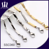 Latest Designs Silver Color Stainless Steel Chain for Men
