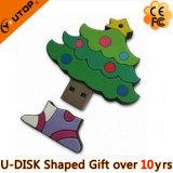 Hot Gift PVC Christmas Tree USB Disk (YT-Tree)