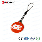 MIFARE Mini NFC Hang Tag Fob for Advertising