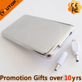Hot 4000/5000mAh Slim Portable Power Bank with Touch Switch (YT-PB21-02)