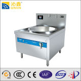 China Best Manufacturer Restaurant Stainless Steel Induction Deep Wok Stove