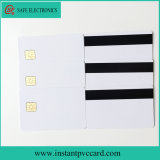 Glossy Magnetic Stripe Card with Sle4428 Chip