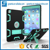 PC Silicone with Stand Shockproof Case for iPad 4