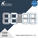 3D Wall Decoration Clock LED with Ce&RoHS