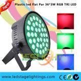 RGB LED Party Light 36PCS*3W Tri LED PAR Can Guangzhou Factory