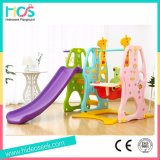 Popular Style Plastic Slide and Swing for Baby (HBS17001A)