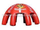 Large Red Inflatable Spider Tent with Custom Logo K5097
