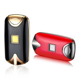 Double Arc Finger Scan Button USB Lighter