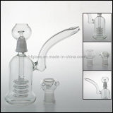 Showerhead Percolator Bubbler Oil Rigs DAB Matrix Glass Smoking Pipes Glass 6.2′′ Male Cheap Water Pipe Crafts