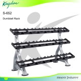 Fitness Three Tiers Dumbbell Rack