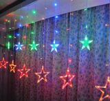 Outdoor/Indoor Decoration Christmas LED Colorful Star String Light