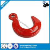 1247-G80 Red Painted Lifting Foundry Eye Hook