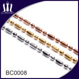 Decorative Multicolors Ball Chain Necklace