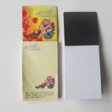 Glue Bound Sticky Note with Magnet