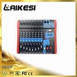 The Newest Ect Series Audio Mixer 8 Channels with USB