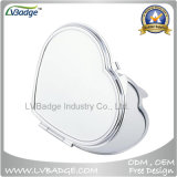 Heart Shape Compact Mirror for Promotion