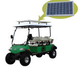 Solar Panel Electric Buggy, with Basket (DEL2042D, 4-Seater)