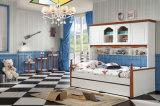 Kids Furniture Single Bed with Bedroom Wardrobe Designs (SZ-BT901)