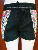 Solid Color Printed Beachwear Swimwear Beach Shorts for Women/Lady