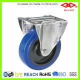 80mm Fixed Elastic Rubber Caster Wheel (D104-23D080X32)