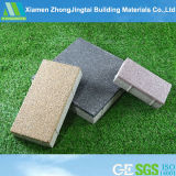 Water Permeable Bricks Combined with Slag Waste