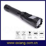 Zp612 1.5 Inch Ambarella Multi-Function Police Flashlight DVR Recorder Portable Camera