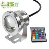 LED Underwater Light RGB 10W 12V IP68 Fountain Pool