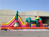 Modern Latest Inflatable Obstacle Course with Slide