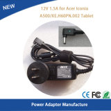 12V 1.5A 18W Power Adapter for Acer Iconia A500 Charger