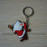 Wholesale Santa Keyring for Christmas Ornament
