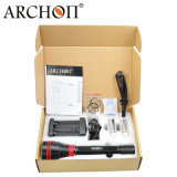 4, 000lumens Archon Diving Lamp with Rechargeable 26650 Li-ion Battery