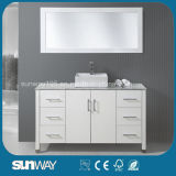 2016 America Style Modern Solid Wooden Bathroom Cabinet with Sink