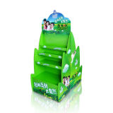 Popular Supermarke Display Stand Green Material