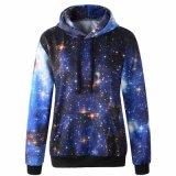 Galaxy Patterns Hoodies Print Sweaters Sweatshirts