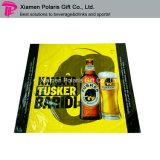 SGS-En71-3 Passed Transparent PVC Printed Reversed Side Beer Table Covers