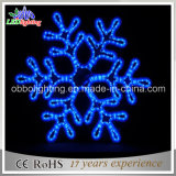 Customized Decorative Outdoor 2D Motif LED Christmas Snowflake Light