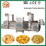Food Machine Continuous Belt Conveyor Fryer Automatic Frying Machine