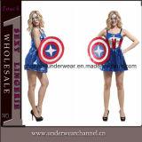 2015 Sexy America Super Hero Cosplay Adult Halloween Costume (TGYW0071)