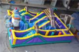 2015 New Design Funny Gorilla Inflatable Obstacle Course for Sale