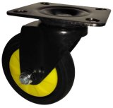 4/5 Inch TPR Noiseless Caster Wheel for Trolley