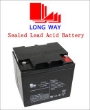 6FM45 Emergency Lighting Rechargeable Lead Acid Battery with High Discharge
