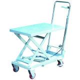 Aluminum Mobile Manual Hydraulic Lift Table