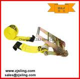 En12195-2 Flat Hook Ratchet Strap (can be customized)