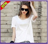Fashion Sexy Cotton/Polyester Printed T-Shirt for Women (W297)