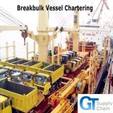 Professional Break Bulk Cargo Shipping Service From China to Pointe Noire, Congo