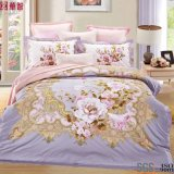 2017 New Design Printed Cotton Bedsheet Sets